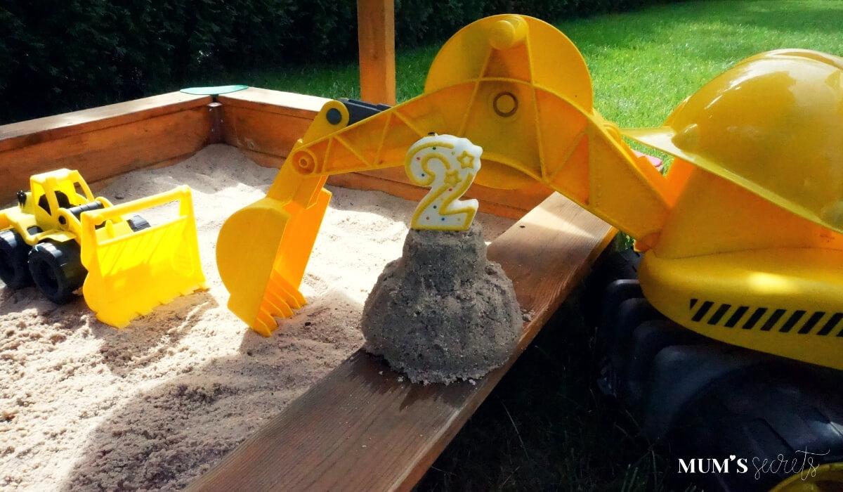Baustellen-Kindergeburtstag