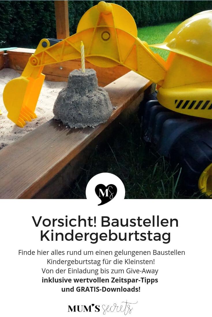 Baustellen-Kindergeburtstag-Pinterest