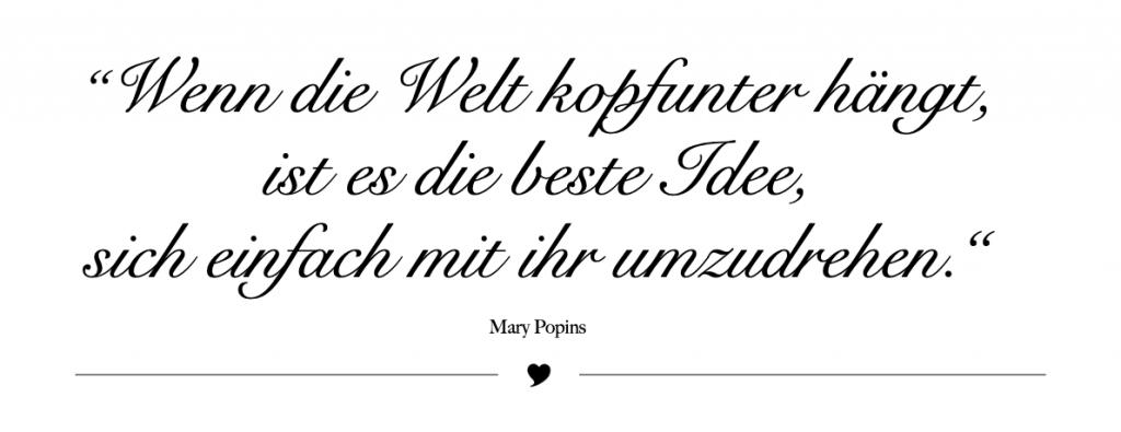 Zitat Mary Popins