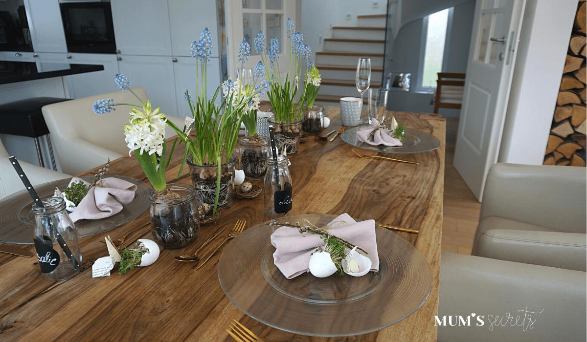 Osterbrunch nachhaltig gedeckt by MUM'S secrets Centerpiece