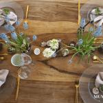 Osterbrunch nachhaltig gedeckt by MUM'S secrets