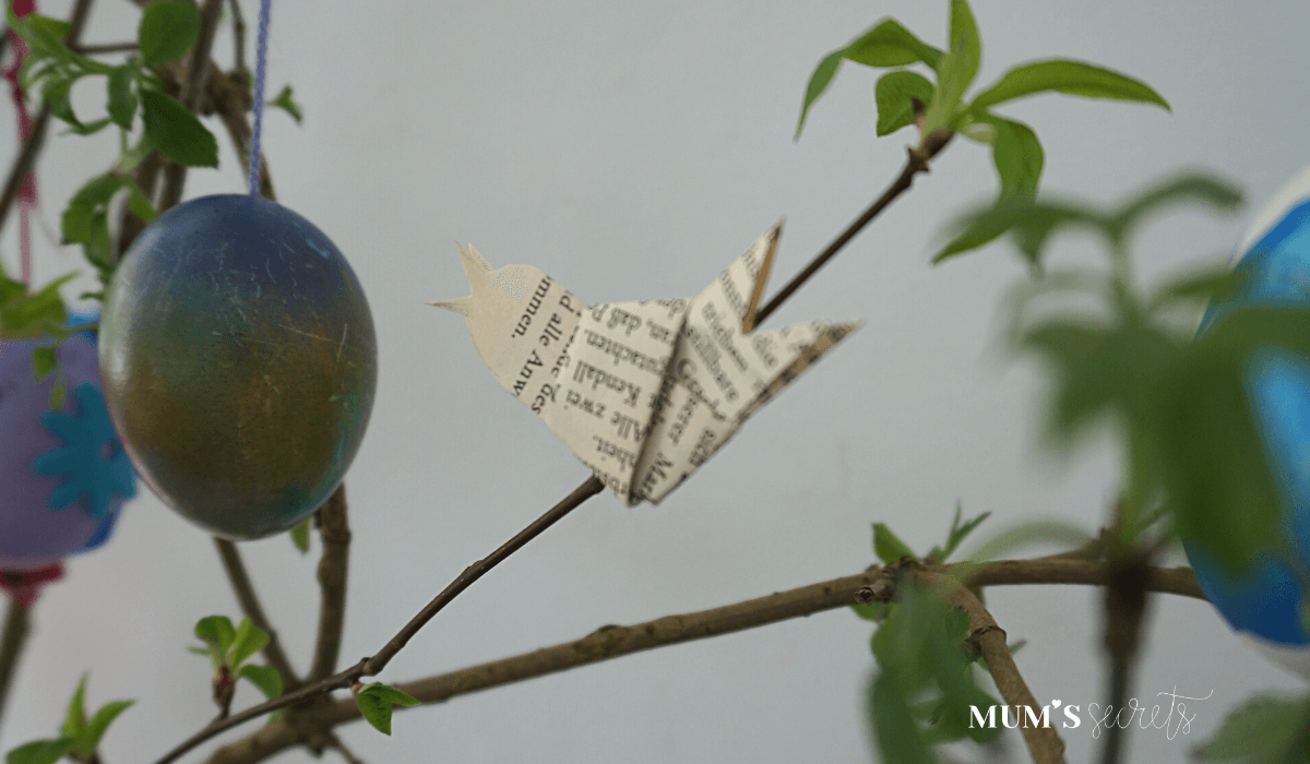 Osterstrauss Tradition by MUM'S secrets Origami Vogel