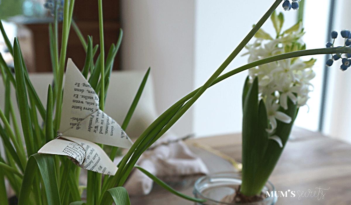 Upcycling Origami Schmetterling für Ostern by MUMSsecrets