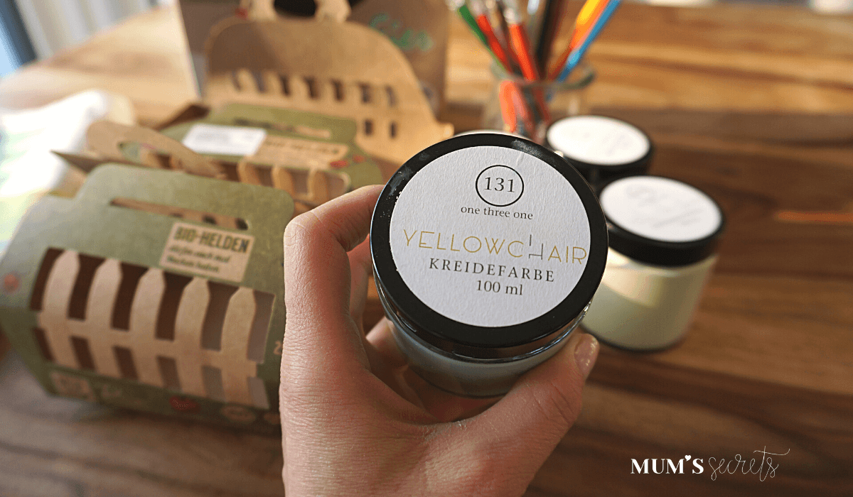 Upcycling Osternest by MUM'S secrets Kreidefarbe
