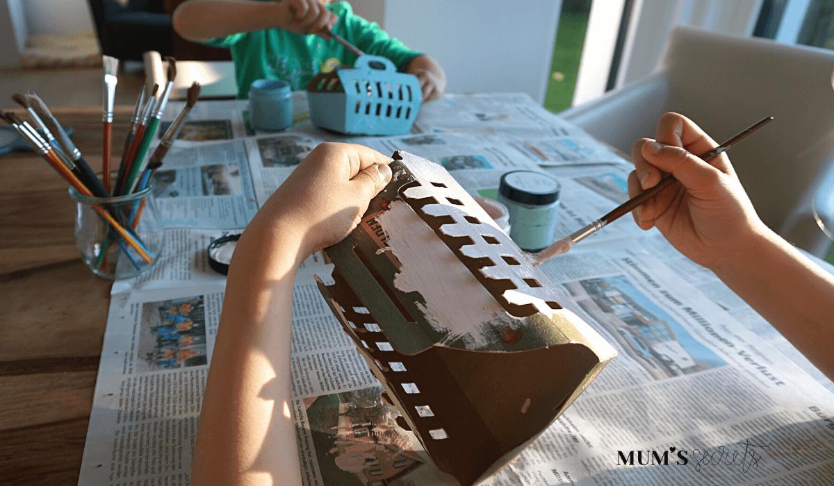 Upcycling Osternest by MUM'S secrets Malen 1