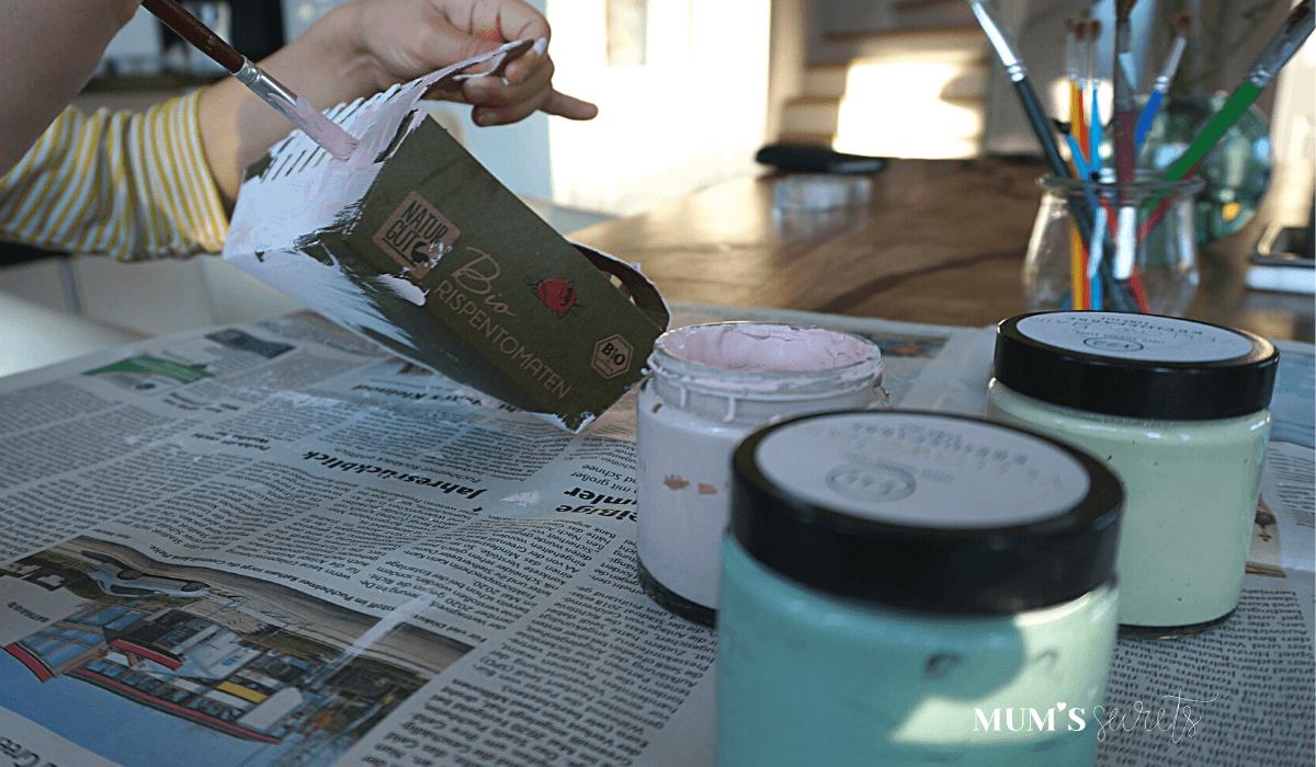 Upcycling Osternest by MUM'S secrets Malen 3