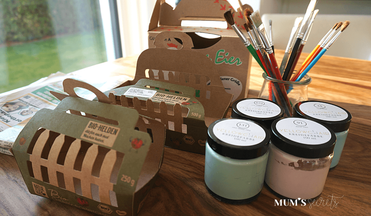 Upcycling Osternest by MUM'S secrets Material