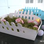 Upcycling Osternest by MUM'S secrets