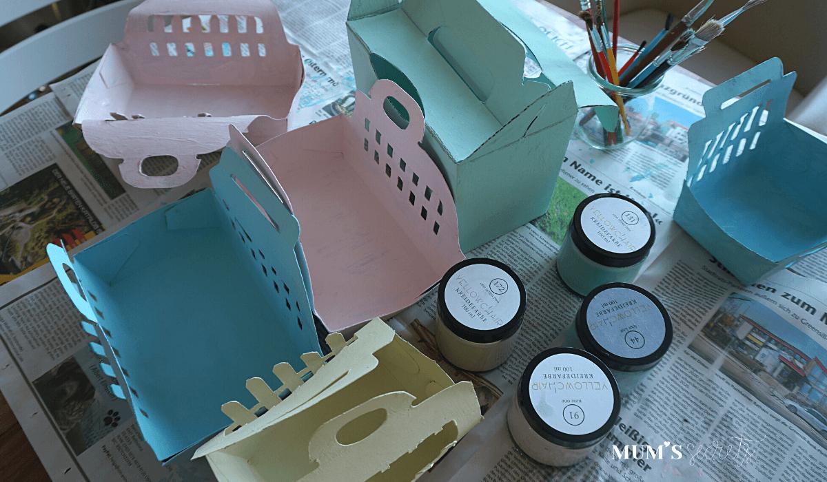 Upcycling Osternest by MUM'S secrets Trocknen
